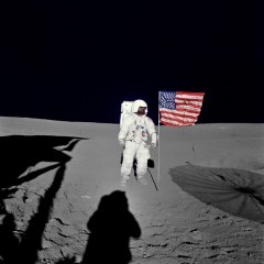 Apollo 14 Edgar Mitchell Lunar Surface