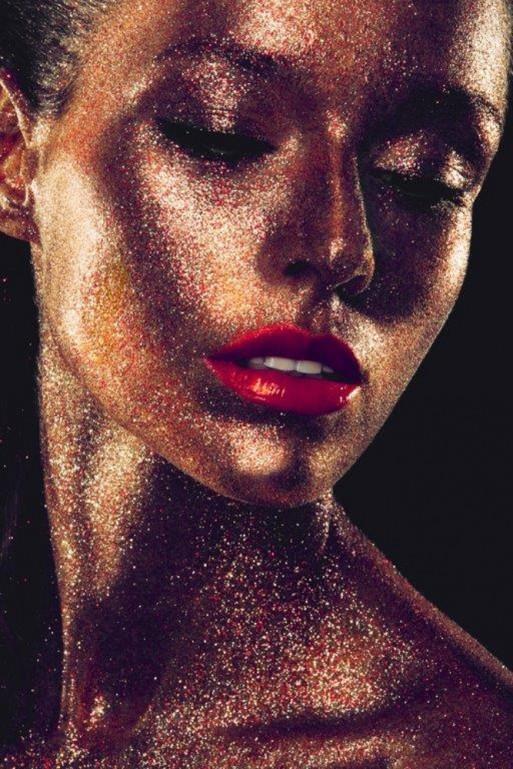 Golden Glitter