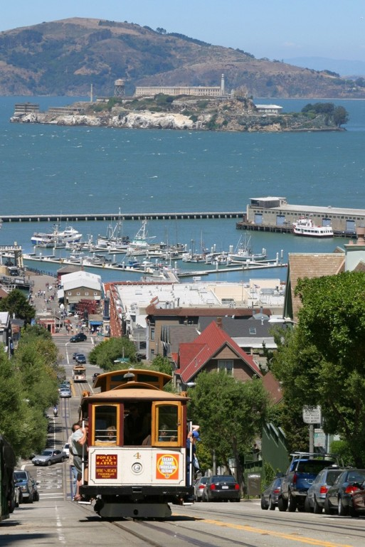 Cable Car to Alcatraz